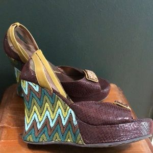 Coconuts By Matisse Melrose Wedge Sandals Size 6